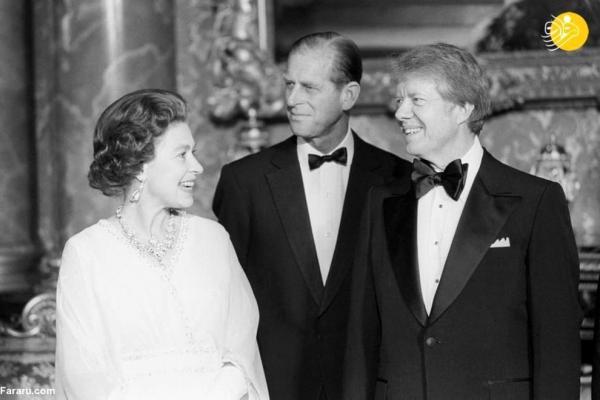 تصاویر تاریخی ملکه انگلیس با 12رئیس جمهور آمریکا