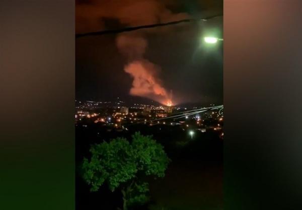 وقوع چندین انفجار در یک کارخانه مهمات سازی صربستان