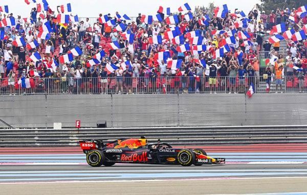 ردبول در رقابتی هیجان انگیز گرندپری فرانسه از فصل 2021 فرمول یک را برد