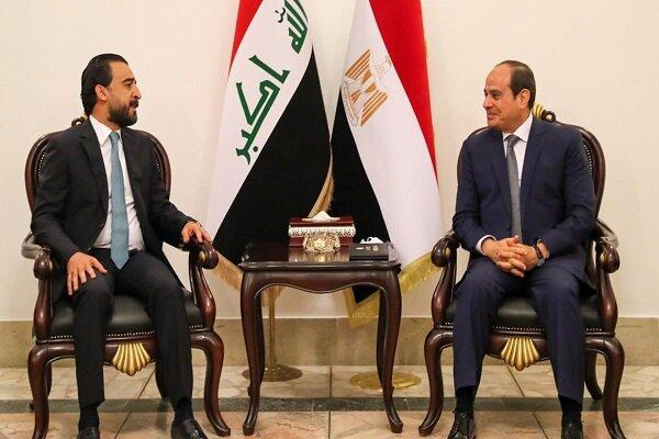 رایزنی حلبوسی با رئیس جمهور مصر
