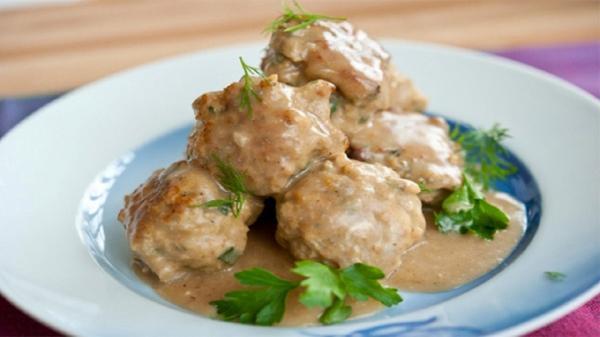 طرز تهیه کوفته مرغ سوئدی