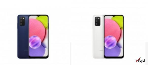 گوشی گلکسی A03s با صفحه نمایش 6.5 اینچی HD