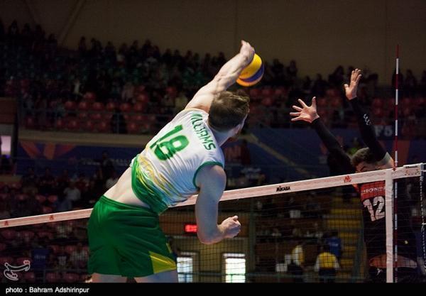 تور ارزان استرالیا: والیبال قهرمانی آسیا، انتها روز نخست با پیروزی استرالیا و ژاپن